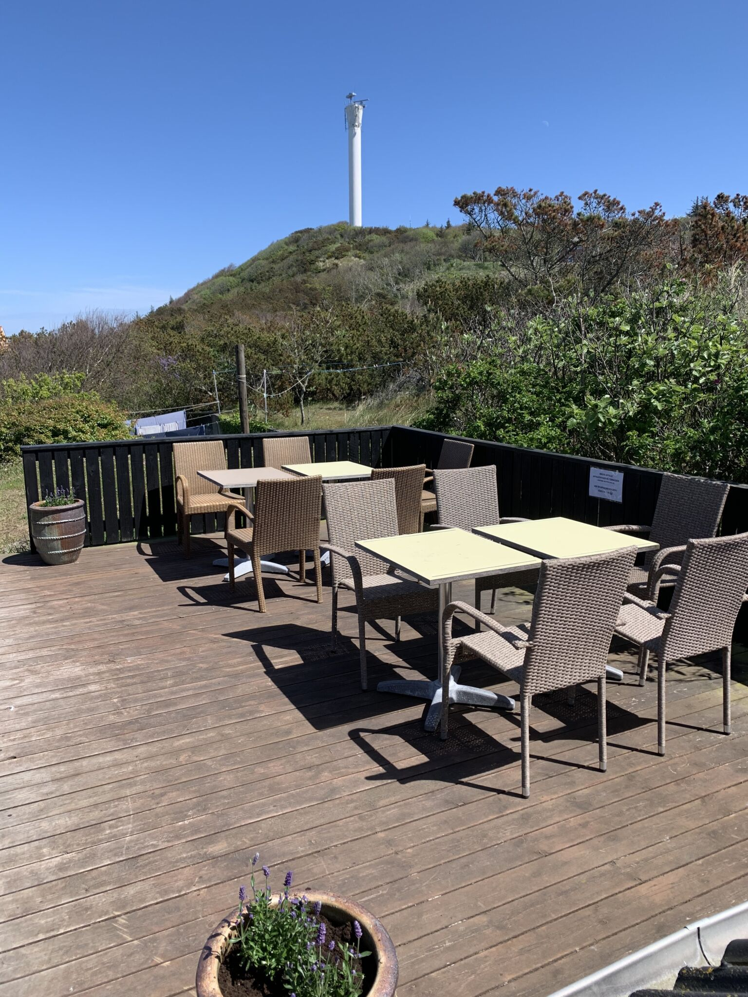 terrasse på anholt
