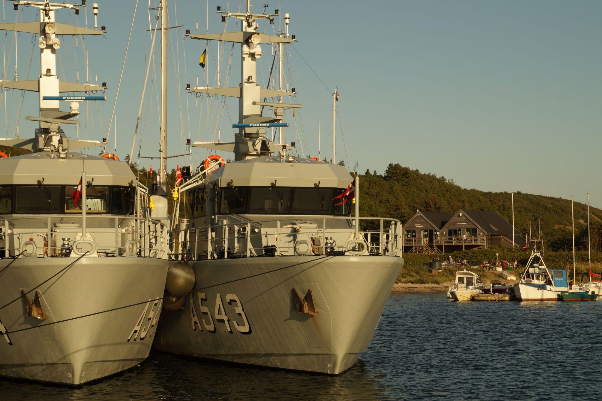 anholt havn med store skibe